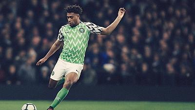 New nigerian jersey
