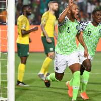 The Super Eagles Soar against the Bafana Bafana in AFCON.