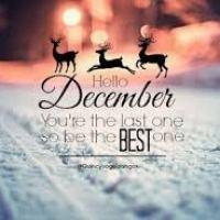 Hello December…